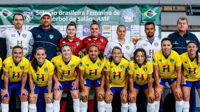 Brasil bate Argentina e conquista o Mundial Feminino de futsal clássico  6c6aebb59339b