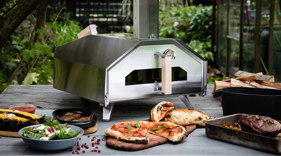Fornos da Ooni fazem pizza em um minuto (Foto: Divulgação)