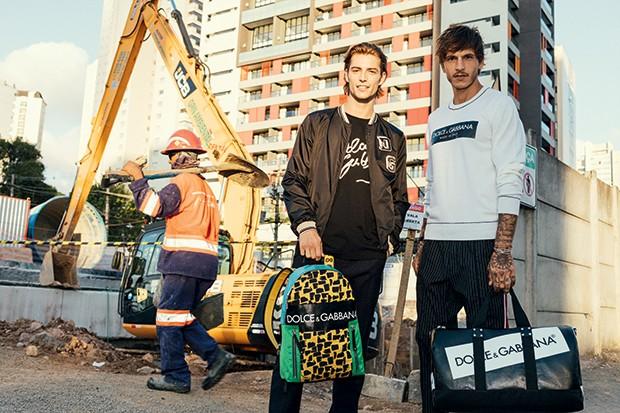 Moda Logomania (Foto: Alex batista)