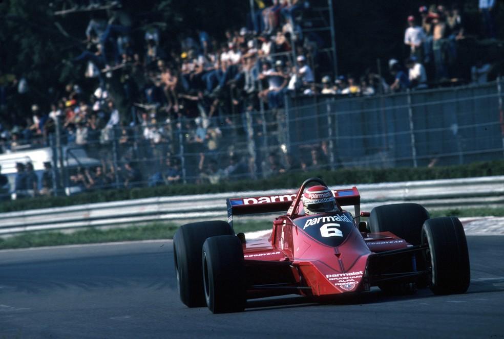 Nelson Piquet antes de sofrer forte acidente em Monza, em 1979 — Foto: Getty Images