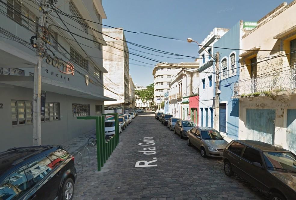 A Rua da Guia faz parte de passeio em homenagem à mulheres importantes para a história de Pernambuco (Foto: Reprodução/Google Street View)