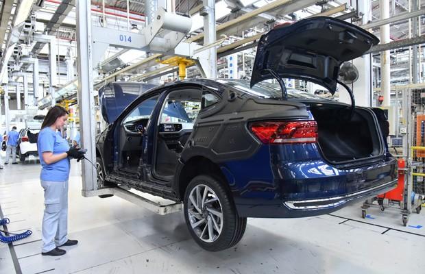 Volkswagen Virtus começa a ser produzido na fábrica da Anchieta (Foto: Divulgação)