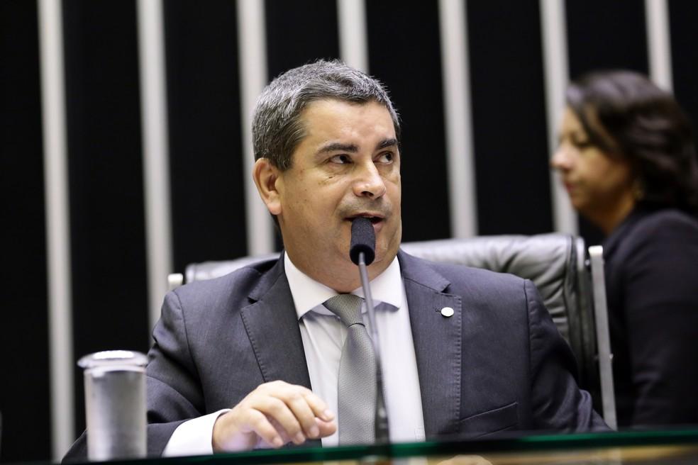O deputado federal Coronel Tadeu (PSL-SP) — Foto: Michel Jesus/ Câmara dos Deputados