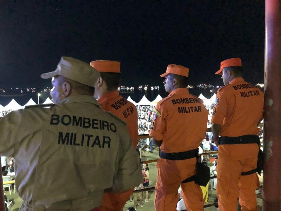 Corpo de Bombeiros registra oito ocorrências no Réveillon de Manaus — Foto: Divulgação/CBMAM