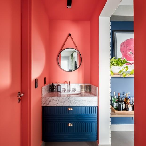 Apartamento jovem e descolado de 37 m²  (Foto: FOTOS NATHALIE ARTAXO)