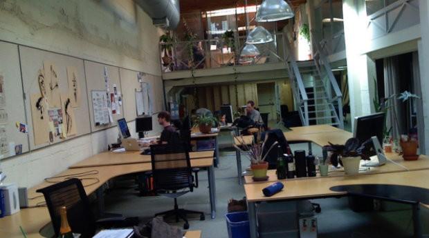 Primeiro escritório do Twitter (Foto: Divulgação)