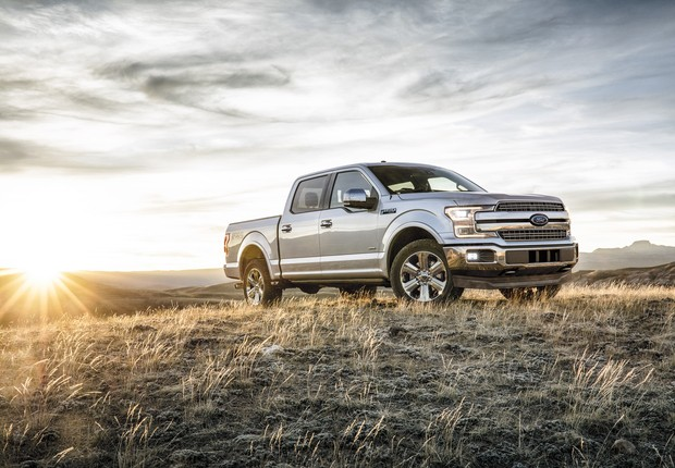 Ford, America's truck leader, introduces the new 2018 Ford F-150 – now even tougher, even smarter and even more capable than ever. (Foto: Divulgação)