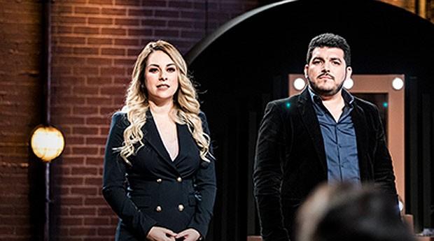 Rocío Aurora Valdez e Aaron Ibarra De los Ríos (Foto: Reprodução)