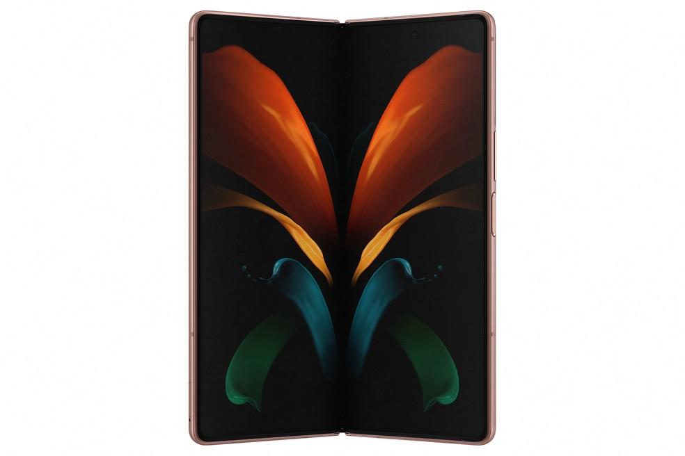 Galaxy Z Fold 2: tela interna de 7,6 polegadas — Foto: Divulgação/Samsung