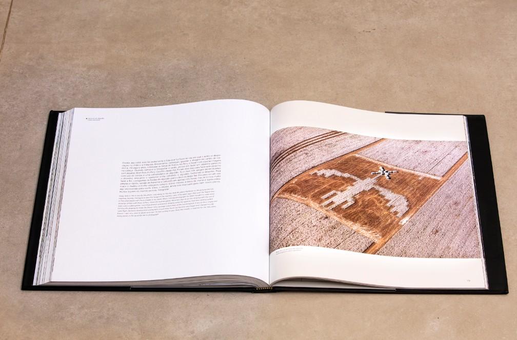 Foto tirada no dia do acidente foi publicada no livro — Foto: Rui Rezende