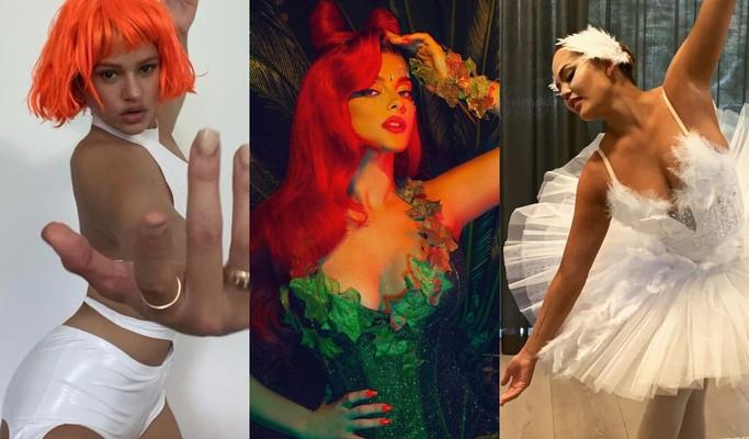 Veja fantasias dos famosos no Halloween 2020