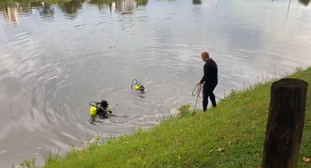 Corpo de homem que sumiu após se afogar no Parque do Lago, em Guarapuava, é encontrado pelos bombeiros após 11 horas de busca