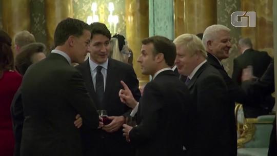 Líderes na Otan são filmados aparentemente rindo de Trump; presidente americano reage