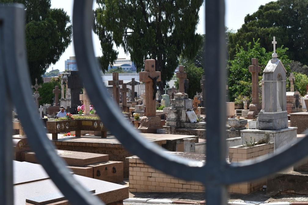 Inaugurado em 1881, Cemitério da Saudade é patrimônio histórico de Campinas (SP) — Foto: Rui do Amaral/G1