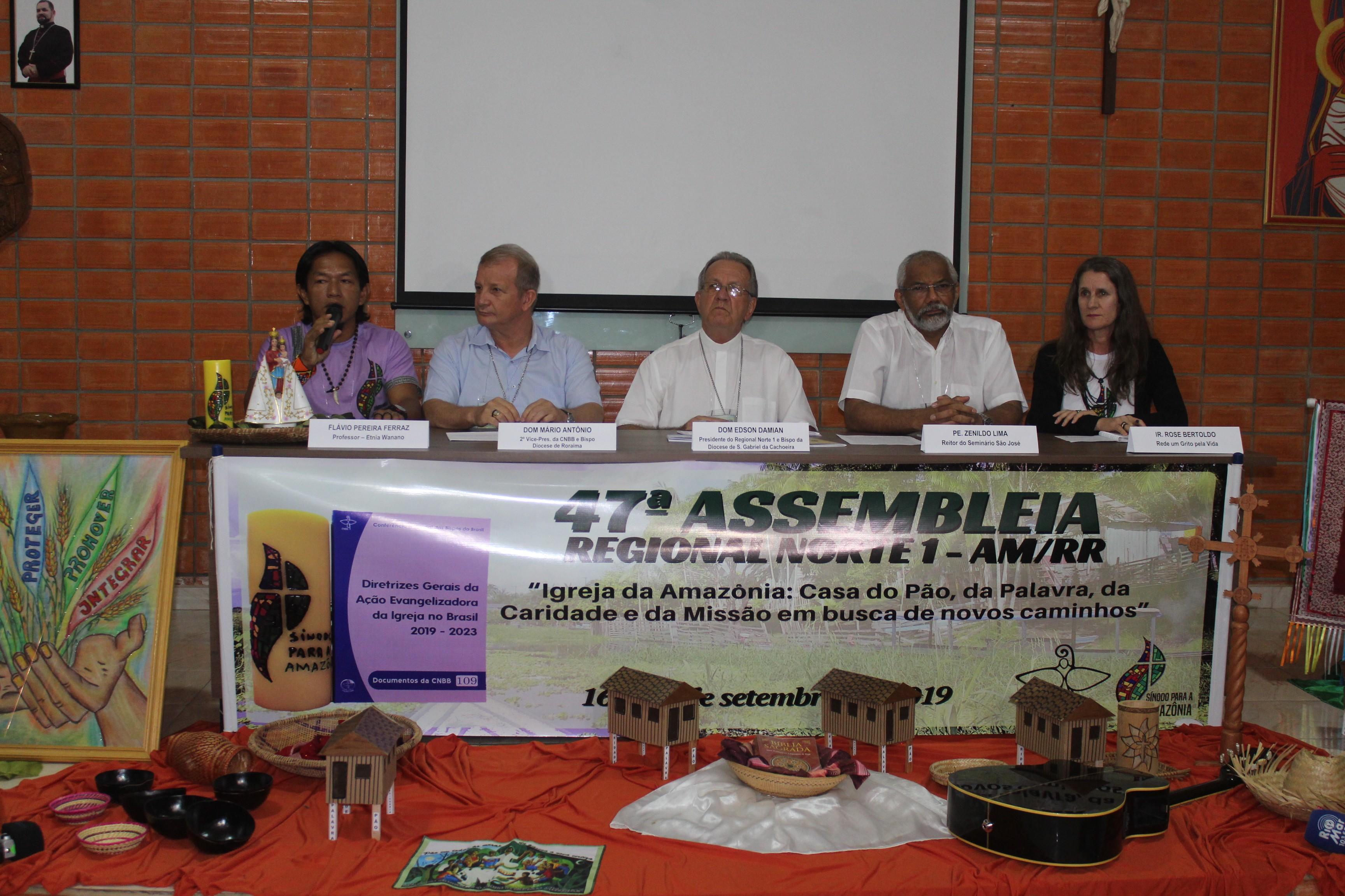 Bispos do AM e RR discutem, em Manaus, temas que serão abordados em Sínodo no Vaticano - Notícias - Plantão Diário