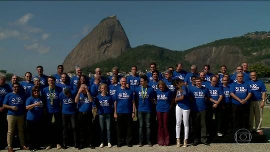 Carlos Arthur Nuzman convida atletas para foto de celebração dos 10 anos do Pan do Rio
