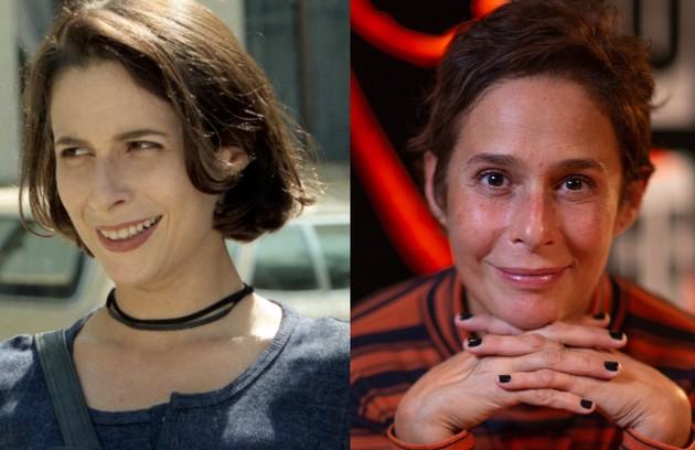 Andréa Beltrão, no ar na série 'Hebe', foi Lisa, namorada de Alexandre. Após a morte dele, envolveu-se com Téo (Foto: TV Globo - O Globo)