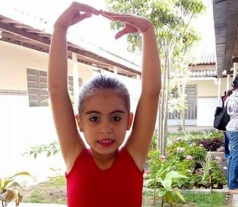 Klarinha seguia uma vida sem muitas limitações onze meses atrás (Foto: Juliana Oliveira/Arquivo Pessoal)