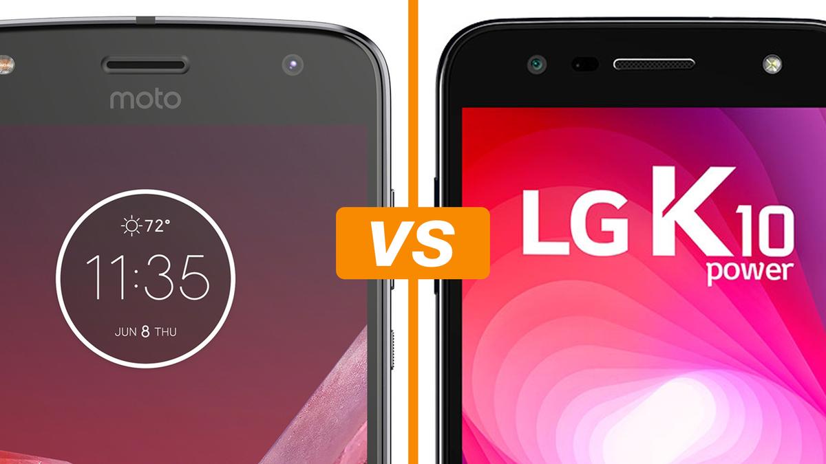 Moto Z2 Play vs LG K10 Power  celulares disputam em preço e bateria    Celular   TechTudo e144b8408a