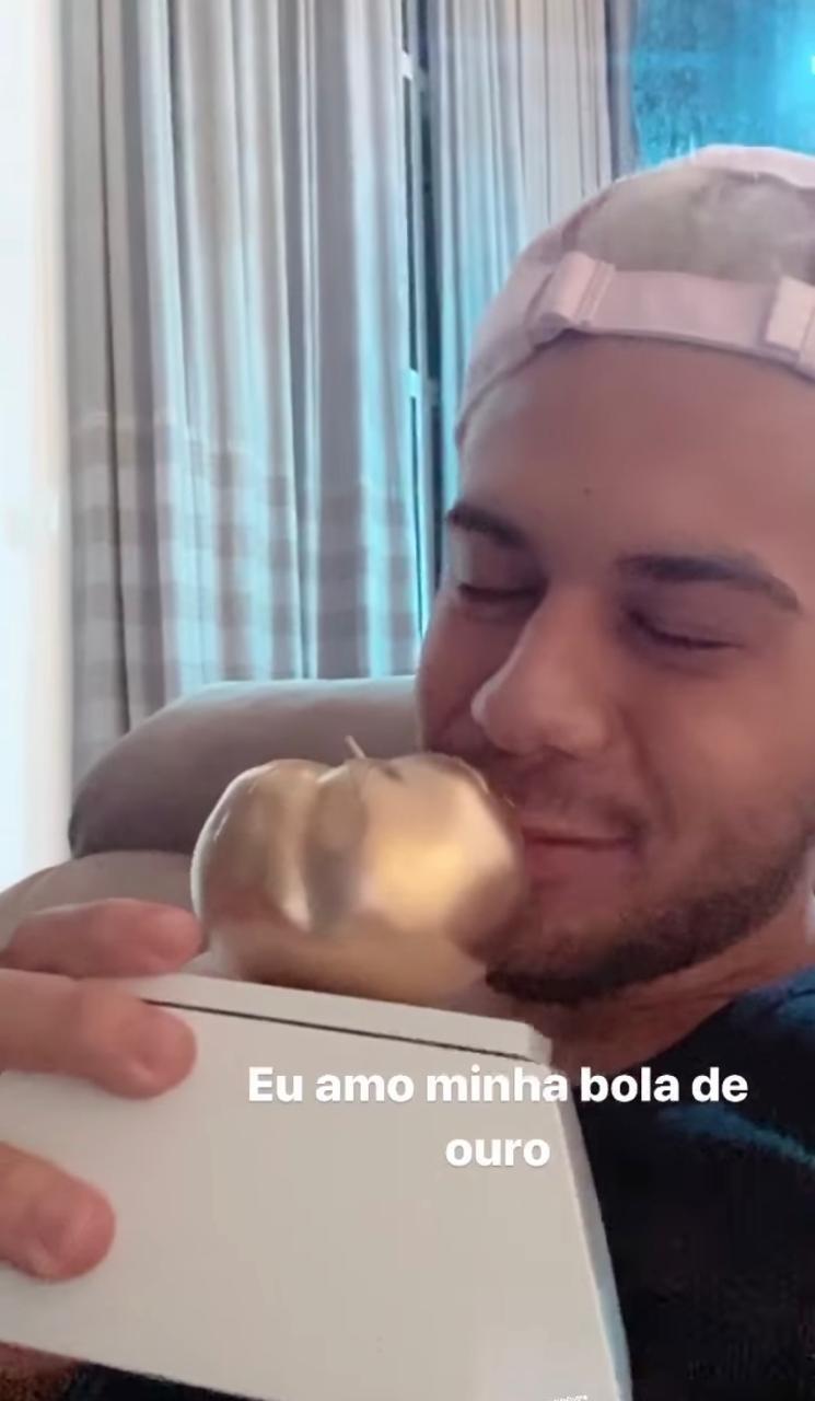 Zé Felipe publica indireta para Neymar (Foto: Reprodução Instagram)