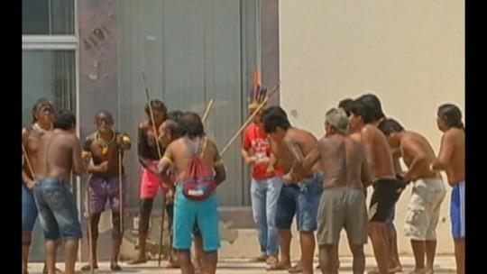 Protesto de índios Kaiapó entra no terceiro dia no sul do Pará