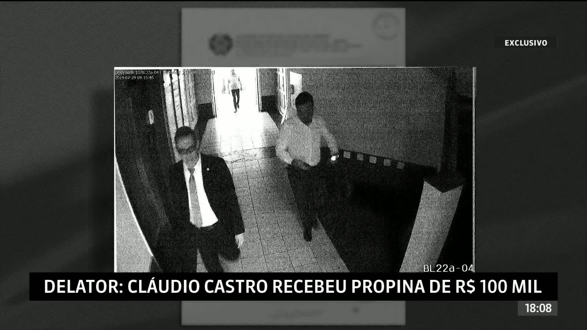 Grupo do MPRJ que investiga pessoas com foro recebe informações sobre Cláudio Castro, suspeito de receber propina