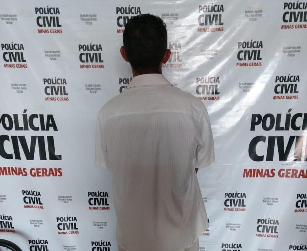 Suspeito de decapitar andarilho estava foragido em Lontra — Foto: Polícia Civil/ Divulgação