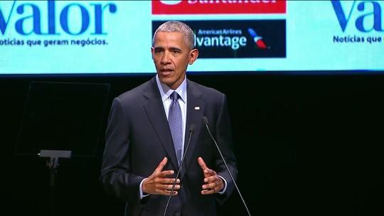 Em SP, Obama diz que Coreia do Norte é 'perigo real' e defende uso da diplomacia para a paz