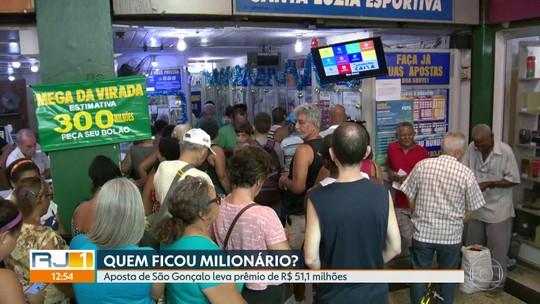 Aposta de São Gonçalo leva prêmio da Mega-Sena de R$ 51,1 milhões de reais