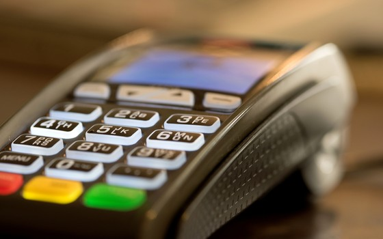 Máquina de débito (Foto: ThinkStockPhotos)