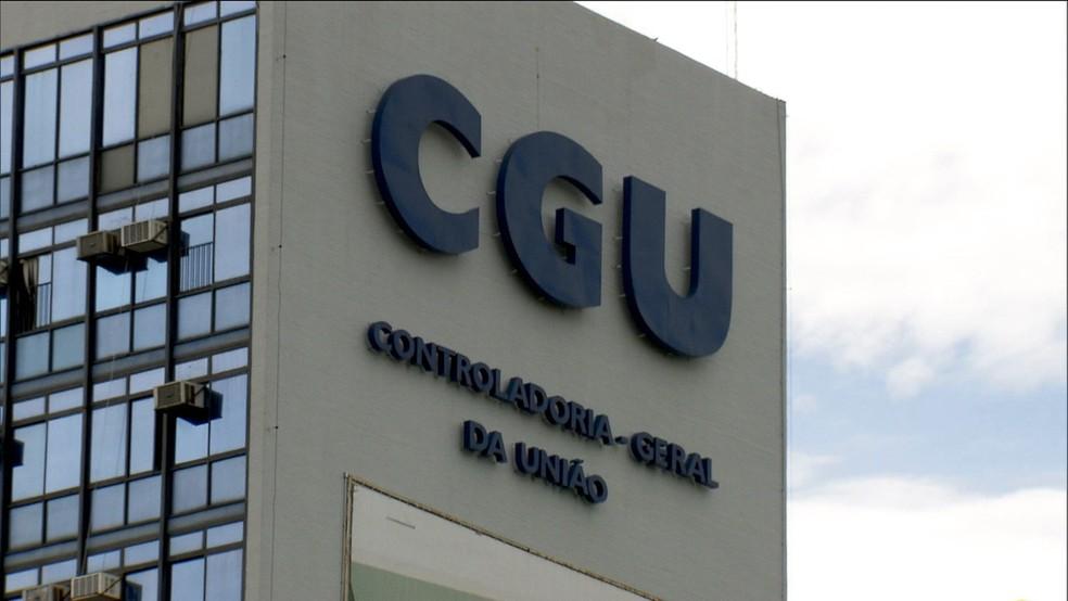 Prédio da Controladoria-Geral da União (CGU) — Foto: Reprodução/GloboNews