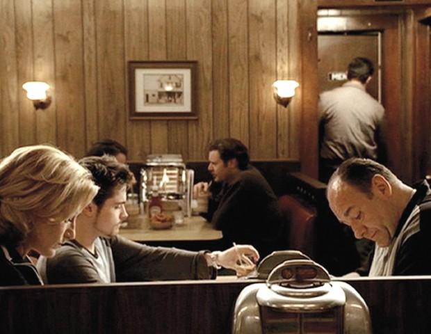 """Cena do último episódio de """"Família Soprano"""" (Foto: reprodução)"""