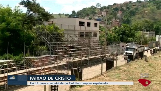 Comunidade em Colatina, ES, prepara encenação da Paixão de Cristo
