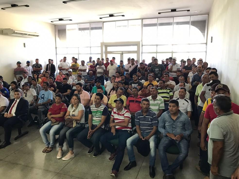 Audiência contou com mais de 100 pessoas em Tobias Barreto (SE). — Foto: Asscom/MPF