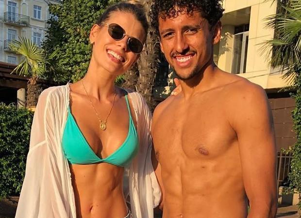 Carol Cabrino e Marquinhos (Foto: Reprodução Instagram)