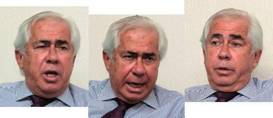Amigo de Lula, o advogado e ex-deputado Sigmaringa Seixas ajuda o ex-presidente da República por meio de seus contatos nas esferas política e jurídica (Foto: Givaldo Barbosa/Agência O Globo )