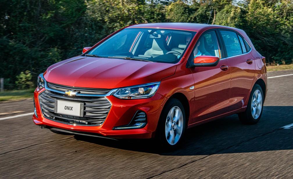 Chevrolet Onix 2020 — Foto: Chevrolet/Divulgação