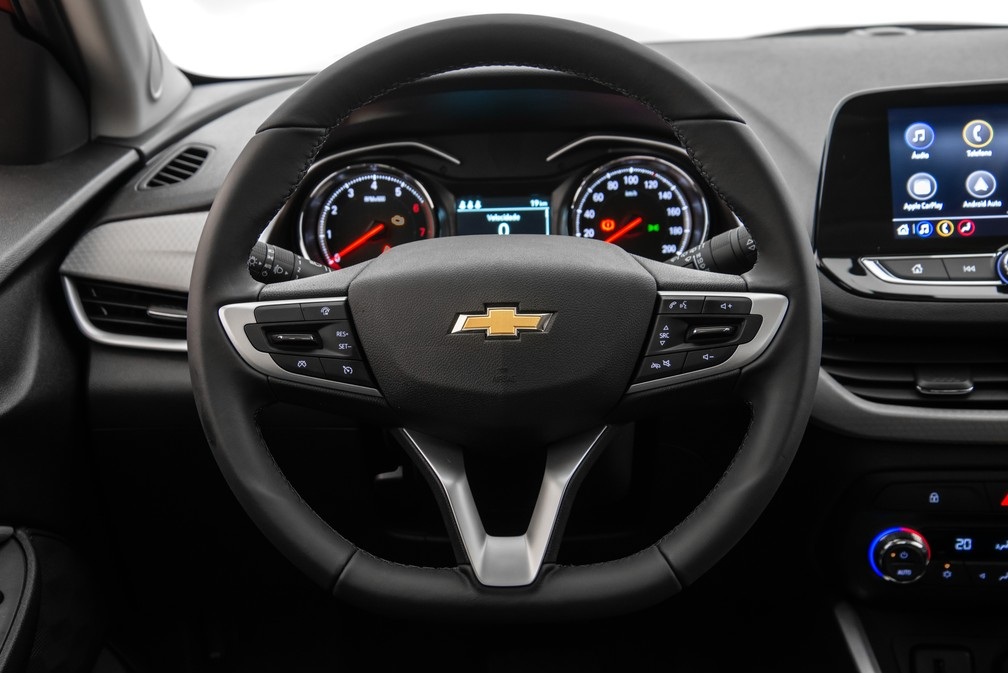 Painel do Chevrolet Onix 2020 — Foto: Chevrolet/Divulgação