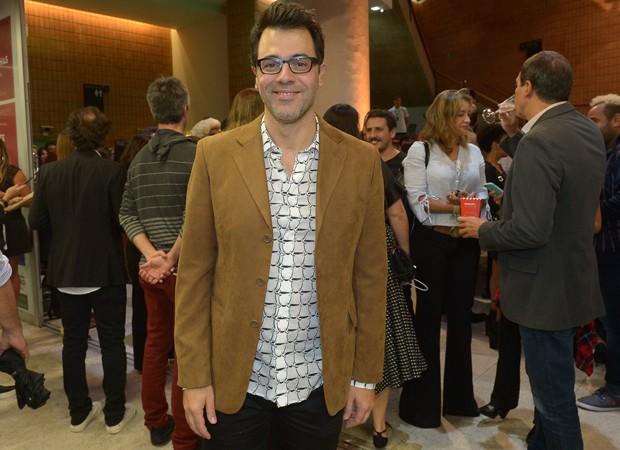 Cláudio Lins, responsável pelo texto e composições originais do espetáculo (Foto: Francisco Cepeda/AgNews)