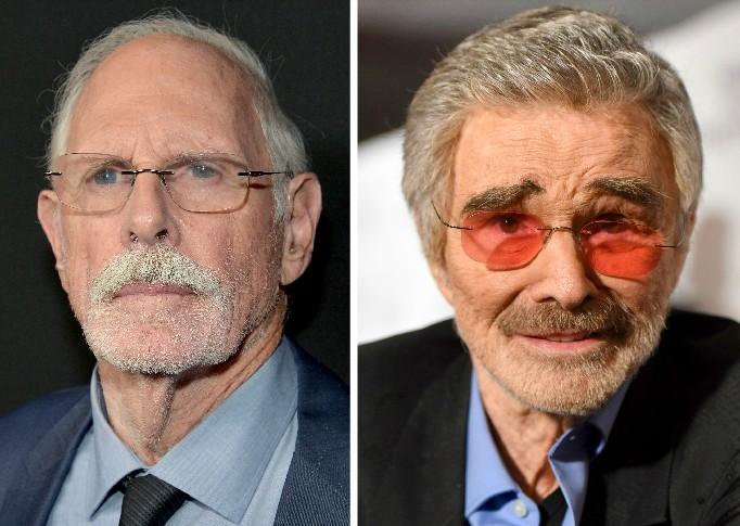 Os atores Bruce Dern e Burt Reynolds (1936-2018) (Foto: Getty Images)