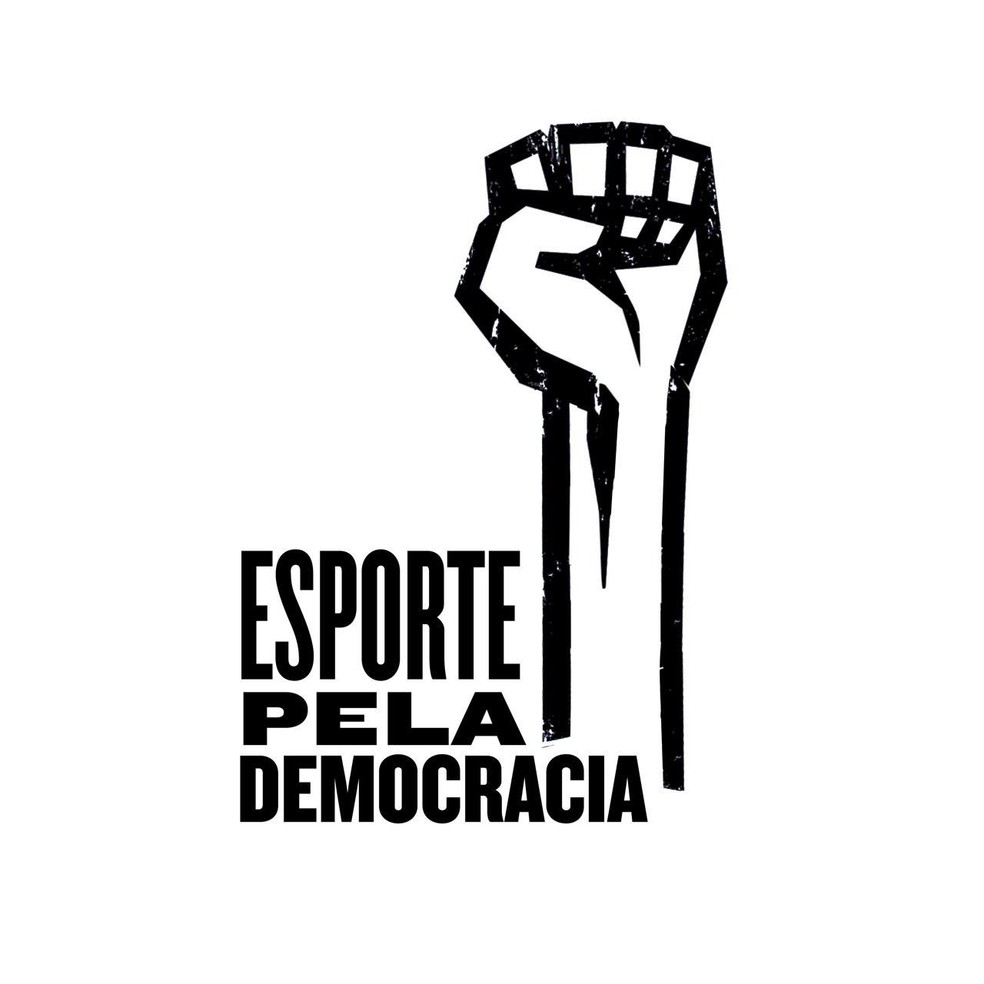 Grupo recebeu o nome de Esporte Pela Democracia — Foto: Divulgação