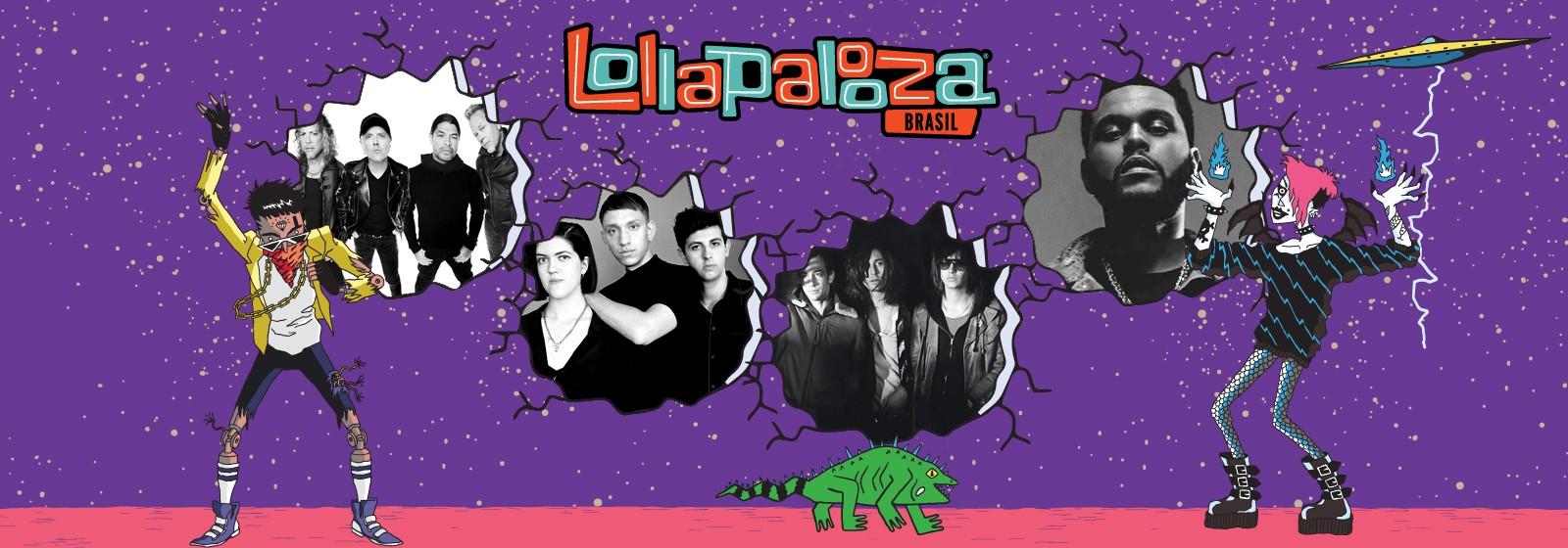 Aquecimento Lollapalooza