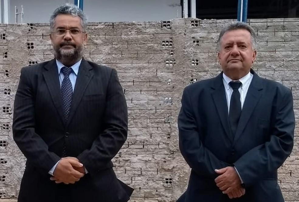 Maciel do Carmo Colpas e Adão Aparecido Viscardi — Foto: Facebook/Reprodução