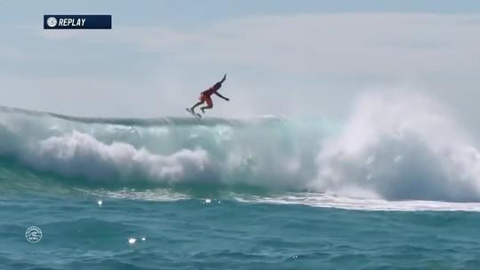 Top 10 do Mundial de Surfe tem tubos, rasgadas e show de aéreos; vote na melhor