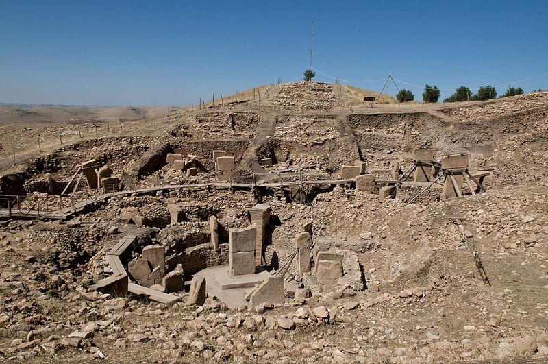 Göbeklitepe, na Turquia, é o sítio arqueológico mais antigo do mundo (Foto: Wikimedia Commons)
