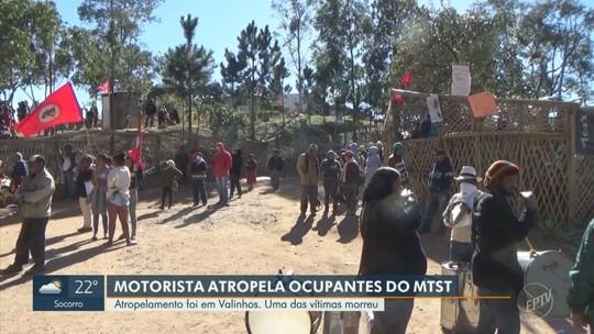 Motorista avança sobre moradores de ocupação durante protesto, mata idoso e deixa feridos em Valinhos