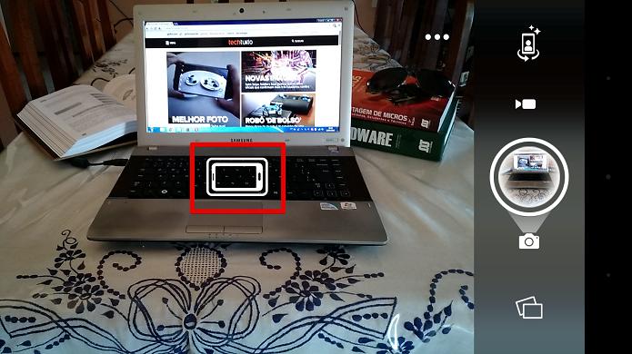 Ambos os ícones estão encaixados, mostrando o enquadramento perfeito (Foto: Felipe Alencar/TechTudo)