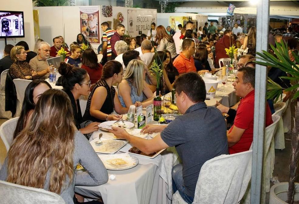 Festival Gastronômico e Cultural de Martins em 2017 (Foto: Divulgação )