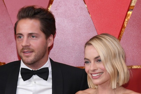 A atriz Margot Robbie e o marido, o produtor de cinema Tom Ackerley (Foto: Getty Images)