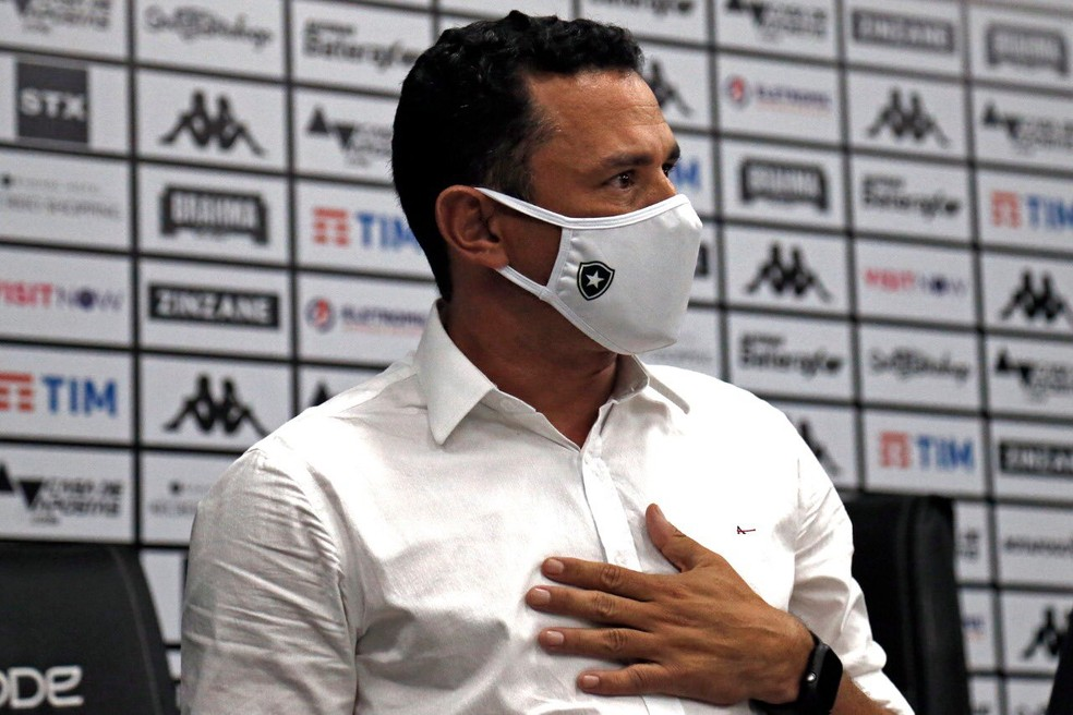 """Dirigente do Bota: """"Arbitragem foi parcial"""" — Foto: Vitor Silva/Botafogo"""
